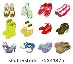 Cartoon Shoes Icon