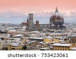 Beautiful Winter Cityscape Of...