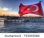 istanbul  turkey    november 10 ... | Shutterstock . vector #753445084