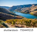 douro river and wine | Shutterstock . vector #753449215