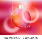 vector colorful abstract... | Shutterstock .eps vector #753463525
