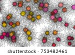 light colored vector background ... | Shutterstock .eps vector #753482461