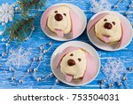 idea for festive party  funny... | Shutterstock . vector #753504031