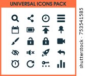 includes icons such as conceal  ...