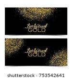 vector illustration of a golden ... | Shutterstock .eps vector #753542641