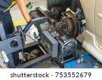 brake disc grinding machine  ... | Shutterstock . vector #753552679