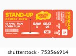 Stand Up Comedy Show Ticket...