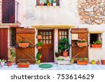 old house in the picturesque...   Shutterstock . vector #753614629