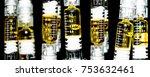 cannabis oil. vape. marijuana... | Shutterstock . vector #753632461
