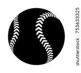 Baseball Isolated Vector Icon