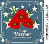 vector illustration of a banner ... | Shutterstock .eps vector #753689425