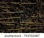 grunge white and black stripes. ... | Shutterstock .eps vector #753702487