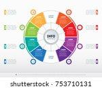 business presentation concept...   Shutterstock .eps vector #753710131