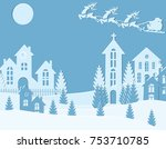 new year christmas. an image of ...   Shutterstock .eps vector #753710785