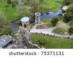 overhead aerial view of blarney ... | Shutterstock . vector #75371131