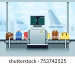 Airport Conveyor Belt With...
