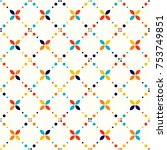 abstract geometric pattern ...   Shutterstock .eps vector #753749851