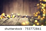 a table with space for your...   Shutterstock . vector #753772861