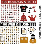 Постер, плакат: 200 holidays party &