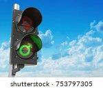 gender sex symbol of men and... | Shutterstock . vector #753797305