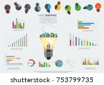 building in the city light... | Shutterstock .eps vector #753799735