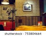 saint petersburg  russia  ... | Shutterstock . vector #753804664