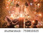 magic christmas night | Shutterstock . vector #753810325
