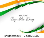 illustration of happy indian... | Shutterstock .eps vector #753822607
