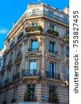 paris  france    november 7 ... | Shutterstock . vector #753827455