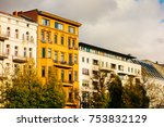 high contrasted apartments... | Shutterstock . vector #753832129