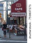 paris  france    november 7 ... | Shutterstock . vector #753837271