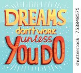 vector inspiring creative... | Shutterstock .eps vector #753848575