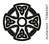 Celtic Cross. National Ornamen...
