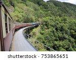 kuranda scenic railway   Shutterstock . vector #753865651