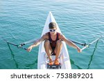 torrevieja  spain   july 25 ... | Shutterstock . vector #753889201