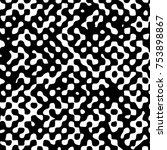 halftone dots retro background...   Shutterstock .eps vector #753898867