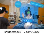 smart medical with augmented... | Shutterstock . vector #753902329