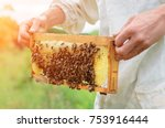 The Beekeeper Holds A Honey...