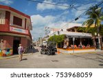isla mujeres  cancun  mexico  ...   Shutterstock . vector #753968059