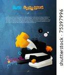 abstract vector graphic ... | Shutterstock .eps vector #75397996