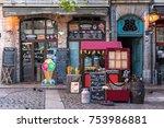 lyon  france    november 6 ... | Shutterstock . vector #753986881