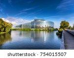 strasbourg  france  august 06... | Shutterstock . vector #754015507