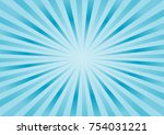 abstract bright blue rays... | Shutterstock .eps vector #754031221