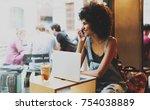 successful entrepreneur glad to ... | Shutterstock . vector #754038889
