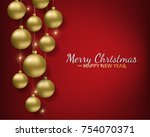greeting card  invitation with...   Shutterstock .eps vector #754070371