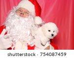 Santa Claus. Santa Claus Holds...