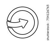 enter icon illustration  one...   Shutterstock .eps vector #754126765