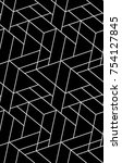 abstract geometric pattern with ... | Shutterstock .eps vector #754127845