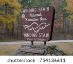 big sign by the roadside of... | Shutterstock . vector #754136611