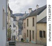 luxembourg city details.... | Shutterstock . vector #754138939